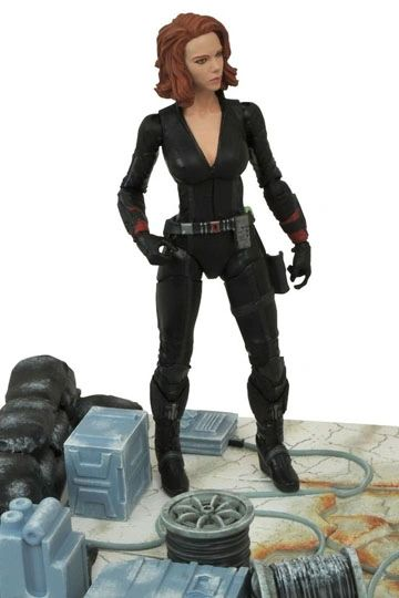Avengers Age of Ultron Marvel Select Action Figure Black Widow 18 cm