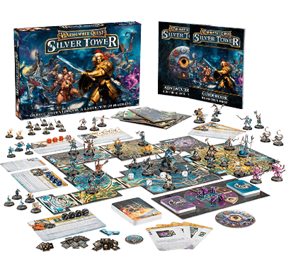 WARHAMMER QUEST: SILVER TOWER Board Game NEW