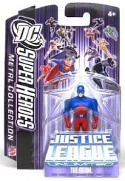 DC Super Heroes The Atom Justice League Unlimited 7cm Metal Collection Figure
