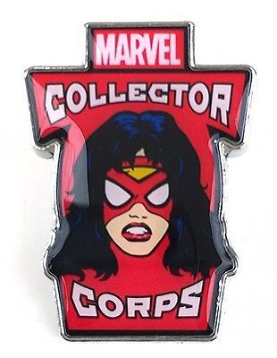 MARVEL COLLECTORS CORPS WOMEN OF POWER BOX EXCLUSIVE - SPIDER WOMAN PIN BADGE