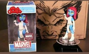FUNKO MARVEL COLLECTORS CORPS MYSTIQUE ROCK CANDY FIGURE EXCLUSIVE