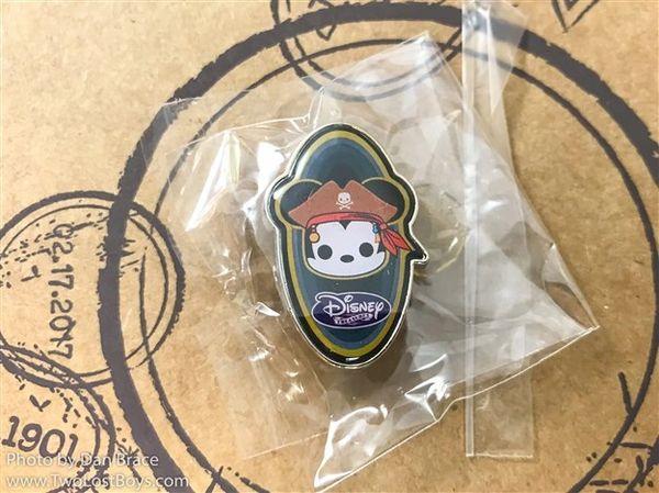 DISNEY TREASURES PIRATE COVE- Pirate Mickey Pin Badge