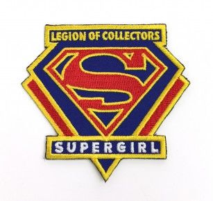 DC LEGION OF COLLECTORS DC TV BOX EXCLUSIVE SUPERGIRL PATCH