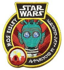 STAR WARS SMUGGLERS BOUNTY - CANTINA BOX EXCLUSIVE GREEDO PATCH