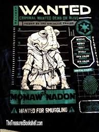 STAR WARS SMUGGLERS BOUNTY CANTINA BOX - EXCLUSIVE MOMAW NADON POP T-SHIRT
