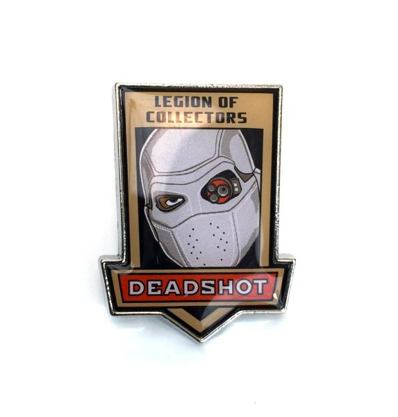 DC LEGION OF COLLECTORS SUICIDE SQUAD BOX EXCLUSIVE DEADSHOT PIN BADGE