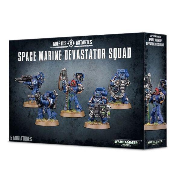 Warhammer 40k Space Marine Devastator Squad