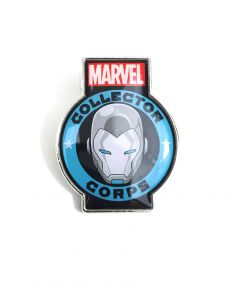 MARVEL COLLECTORS CORPS SECRET WARS EXCLUSIVE - SUPERIOR IRON MAN PIN BADGE