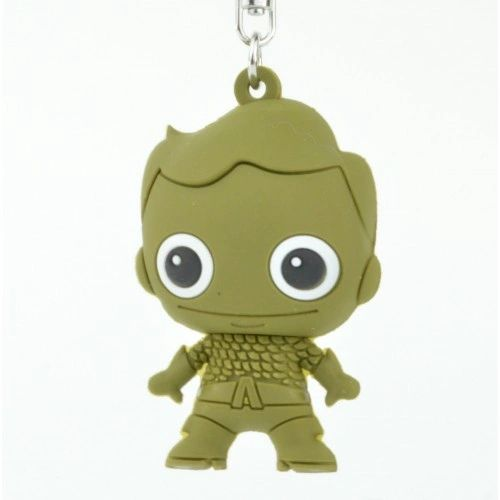 DC Series 2 Figural 2-Inch Key Chain - Aquaman Chase - Loose