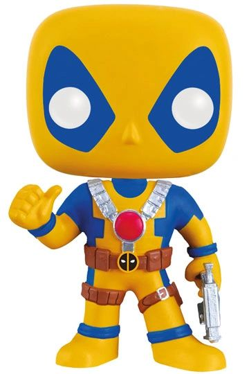 Marvel Comics POP! Vinyl Bobble-Head Deadpool Yellow Costume