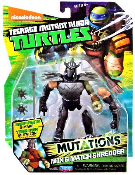 TMNT Mutations Mix & Match Shredder Action Figure