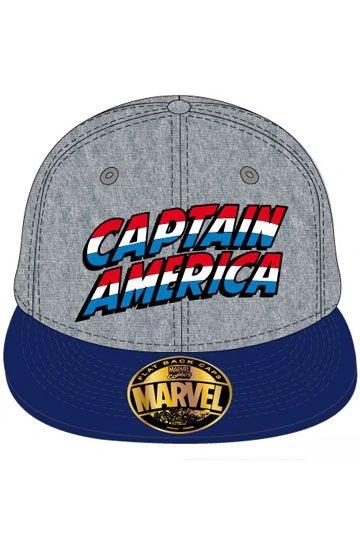 Captain America Adjustable Cap Text Logo