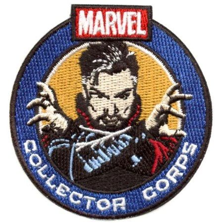 MARVEL COLLECTORS CORPS DOCTOR STRANGE BOX EXCLUSIVE - DOCTOR STRANGE PATCH