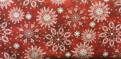 Quilting Treasures Holiday Snowflake Christmas Dreams Fabric