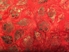 Benartex Dragonfly Garden Batik Style 0158 Color 10