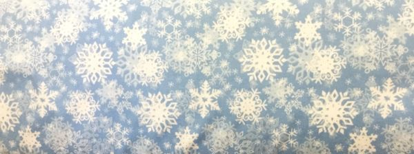 Wilmington Prints Snow Buddies Snowflake Fabric