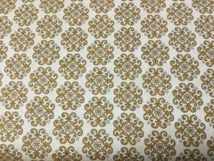 Quilting Treasures In Bloom tan gold print