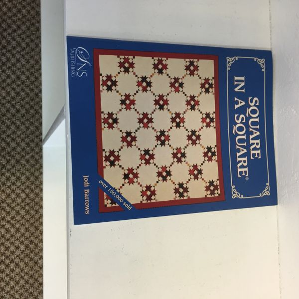 Square in a square pattern book by Jodi Barrows
