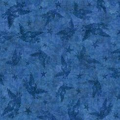 Quilting Treasures QT American Pride blue blender
