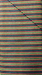Crazy For Flannels - blue, green, light green, stripes - striped FLANNEL Fabric