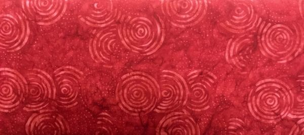 Blank Quilting Red Sumatra