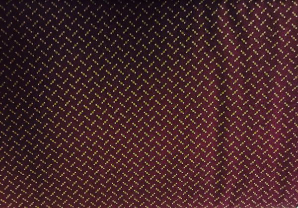 MODA Kansas Troubles Pheasant Hill Burgundy Fabric tan/gold dots and lines 9384