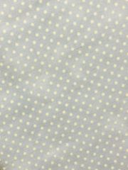 30's Reproduction Fabric - Folk Art - light blue grey color with off white cream dots