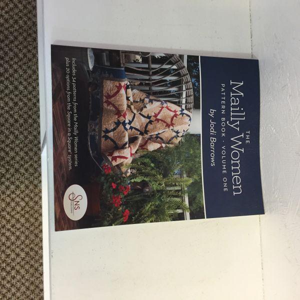 The Mailly Women Jodi Barrows pattern book volume 1