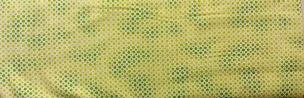 Quilting Treasures Green Ombre Dots Fabric