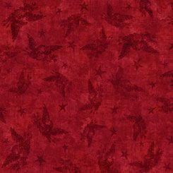 QT American pride red blender quilting treasures