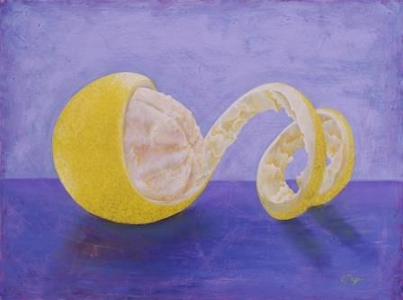 Lemon Peel Twist