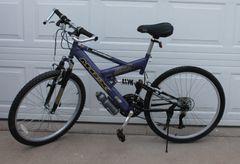 MGX DXR Dual Suspension 21 Speed Mountain Bike / Bicycle-Like New