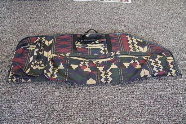 Western Print Bow Case