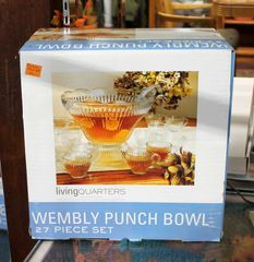 27pc Punch Bowl Set