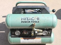 Hitachi EC-119 Electric 4 Gallon Twin Stack Air Compressor