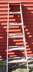 6' Columbia Sturdy Wood Ladder