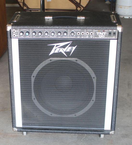 Peavey TNT 130 Amplification System / Amplifier