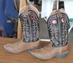 Tony Lama Cowboy Boots-6D