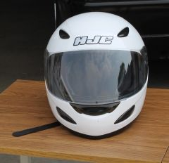 HJC CL-14 Full Face White Helmet-Small