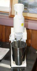 4pc Cuisineart Hand Blender and Milk Shake Maker