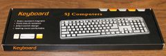New SJ Computers USB Keyboard and Mouse