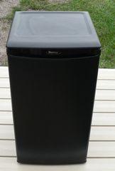 Black Danby Mini Refrigerator w/ Freezer