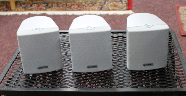 AIWA Mini Speakers-Front/Center/Rear