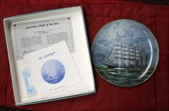 The Copenhagen-Legendary Ships of the Seas Collector Plate