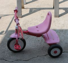 Radio Flyer Fold 2 Go Girls Trike Tricycle