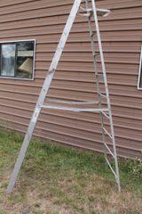 Werner 10' Aluminum Step Ladder-Type 1 Commercial/Industrial
