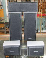 Pioneer 5-Piece Surround Speakers