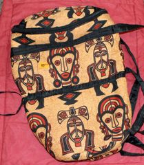 Drum Case from African Design Fabric