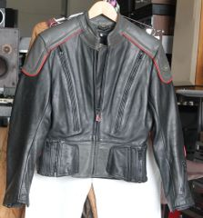 Hein Gericke Gray Motorcycle Jacket
