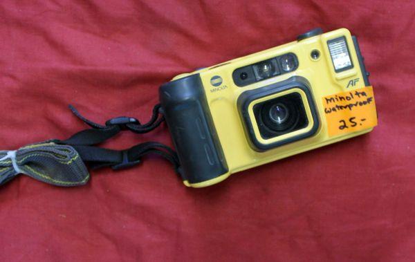 Minolta Weathermatic Dual 35mm Waterproof Camera